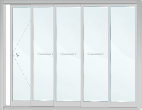 Стъклена система - SL AG5