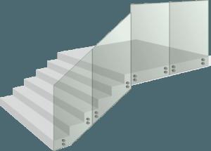 Стъклен парапет - Glass G10