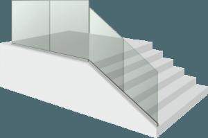 Стъклен парапет - Glass S1