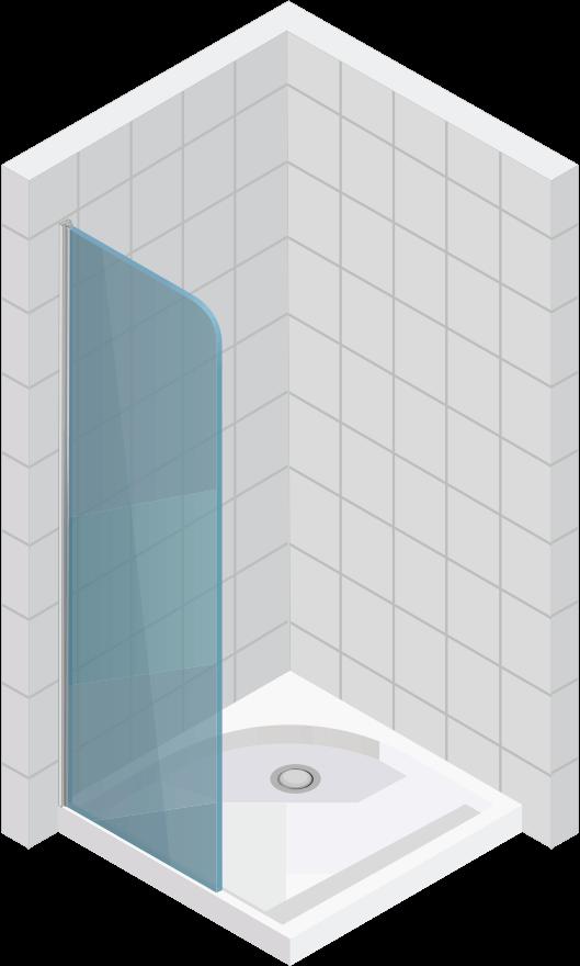 Душ параван - L801